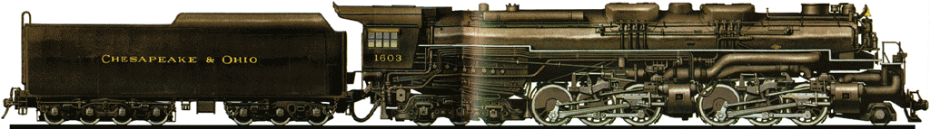 An Allegheny Locomotive