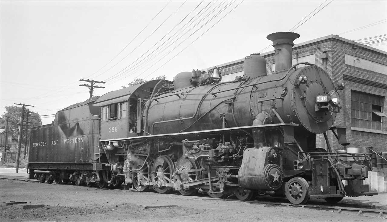 norfolk western 4 8 0 mastodon locomotives in the usa. Black Bedroom Furniture Sets. Home Design Ideas
